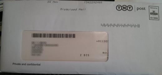 Secret Postal Mail