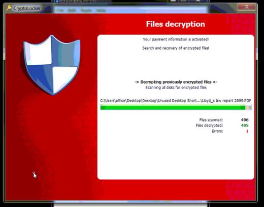 decrypting