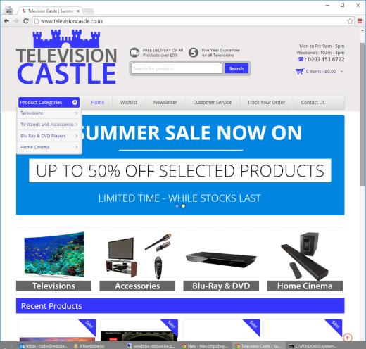 television castle scam site