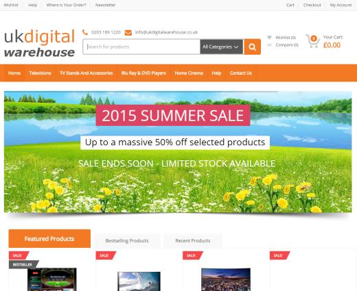 uldigitalwarehouse home page