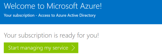 azure sign up without phone verification or payment ready