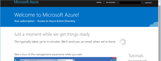 azure sign up without phone verification or payment success