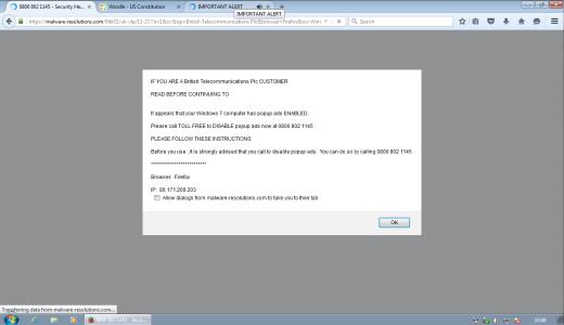 live technician screenshot malware resolutions