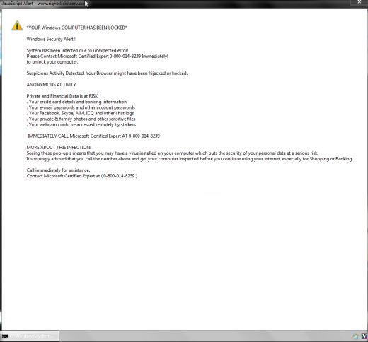 rightclickitserv-spam-scam-virus-warning-page-wording