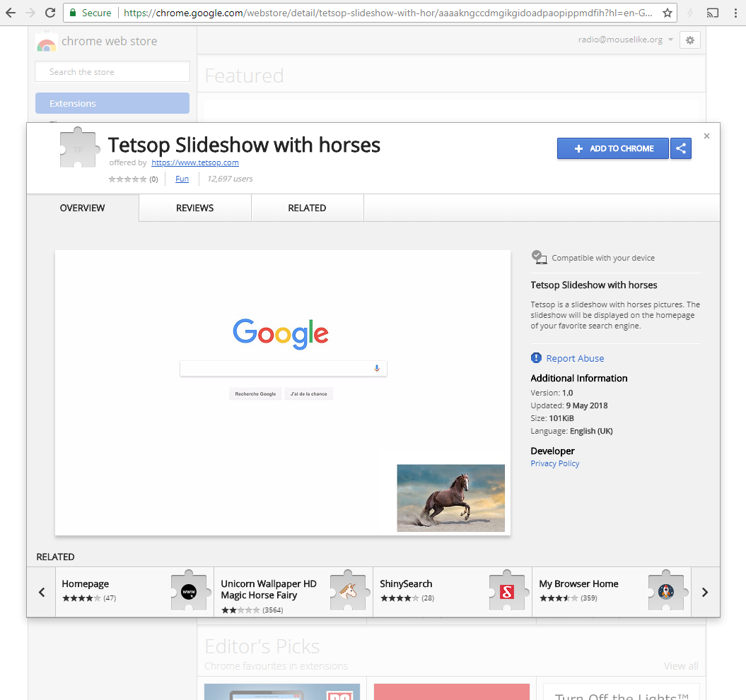 google chrome extensions hiding and waiting thecomputerperson
